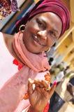 Afrikanischer Wähler Senegal 2012 Lizenzfreies Stockbild