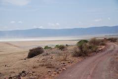 Afrikanischer Weg Stockfotografie