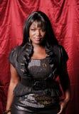 Afrikanischer weiblicher Sänger Lizenzfreies Stockbild