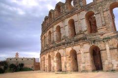Afrikanisches Amphitheater Lizenzfreie Stockfotografie