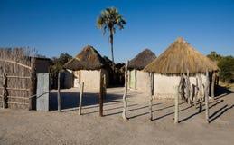 Afrikanisches Dorf Lizenzfreie Stockfotografie