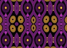 Afrikanisches Druckgewebe, ethnische handgemachte Verzierung für Ihre geometrischen Elemente der Design-, ethnischer und Stammes- lizenzfreie abbildung