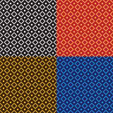 Afrikanisches ethnisches shwe shwe Muster stock abbildung