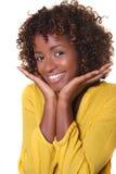 Afrikanisches Gesicht Lizenzfreie Stockbilder