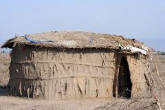 Afrikanisches Haus Stockfotos