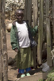 Afrikanisches Kind in Ruanda Stockfotos