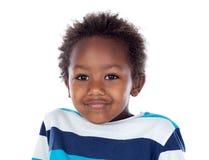 Afrikanisches Kinderlachen Stockfotografie