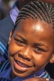 Afrikanisches Kindermädchenporträt Stockfotos