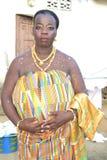 Afrikanisches Kleid Stockfotografie