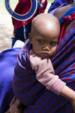 Afrikanisches kleines Kind Lizenzfreies Stockbild