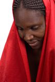 Afrikanisches Mädchen lizenzfreies stockbild