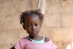 Afrikanisches Mädchen Stockfotografie