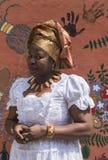 Afrikanisches Mädchen von Nigeria stockfotografie