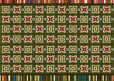 Afrikanisches Muster Stockbild
