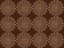 Afrikanisches Muster Stockfoto