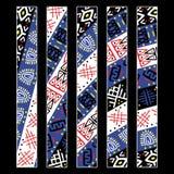 Afrikanisches Muster Stockbilder