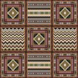 Afrikanisches Muster 1 Lizenzfreie Stockfotografie