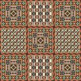 Afrikanisches Muster 4 Stockfotos