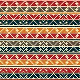Afrikanisches nahtloses Muster lizenzfreie abbildung