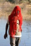 Afrikanisches Portrait Stockfotografie