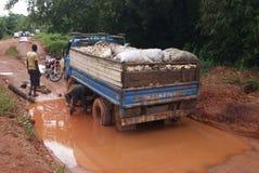 AFRIKANISCHES ROADS_ Stockbild