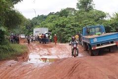 AFRIKANISCHES ROADS_ Lizenzfreie Stockbilder