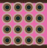 Afrikanisches rosa Material Stockfoto