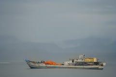 Afrikanisches Schiff Stockbilder