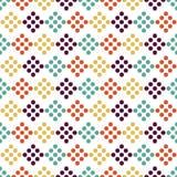 Afrikanisches shweshwe buntes Druckdesign vektor abbildung