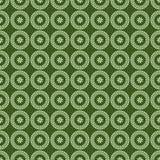 Afrikanisches shweshwe Musterdesign nahtlos stock abbildung