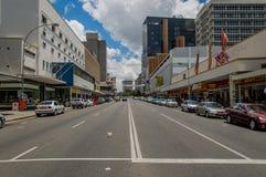 Afrikanlandskap - Windhoek Namibia Fotografering för Bildbyråer