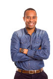 afrikansk affärsman royaltyfri fotografi