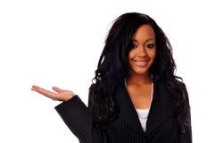 afrikansk amerikanaffärskvinna Arkivbild