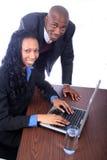 afrikansk amerikanaffärspartners Royaltyfri Fotografi