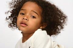 afrikansk amerikanbarn Arkivfoto