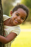 afrikansk amerikanbarn Arkivbilder