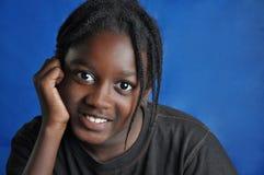 Afrikansk amerikanbarnpojke Royaltyfri Fotografi