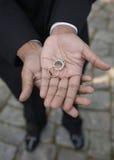 afrikansk amerikanbröllop fotografering för bildbyråer