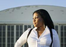 afrikansk amerikankvinna Royaltyfria Foton