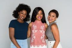 Afrikansk amerikankvinnor royaltyfri fotografi