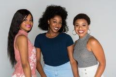 Afrikansk amerikankvinnor royaltyfria foton