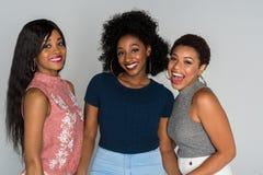 Afrikansk amerikankvinnor royaltyfria bilder