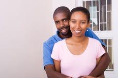 afrikansk amerikanpar Arkivfoto