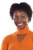 afrikansk attraktiv kvinna arkivbild