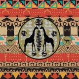 afrikansk bakgrund Royaltyfria Bilder