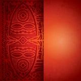 Afrikansk bakgrundsdesign. Royaltyfri Foto
