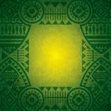 Afrikansk bakgrundsdesignmall. Royaltyfri Fotografi