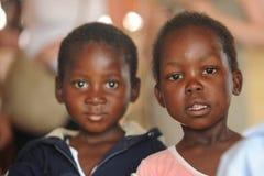 afrikansk barnskola Royaltyfria Foton
