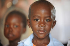 afrikansk barnskola Royaltyfria Bilder