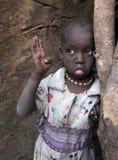 afrikansk barnslum Arkivfoto